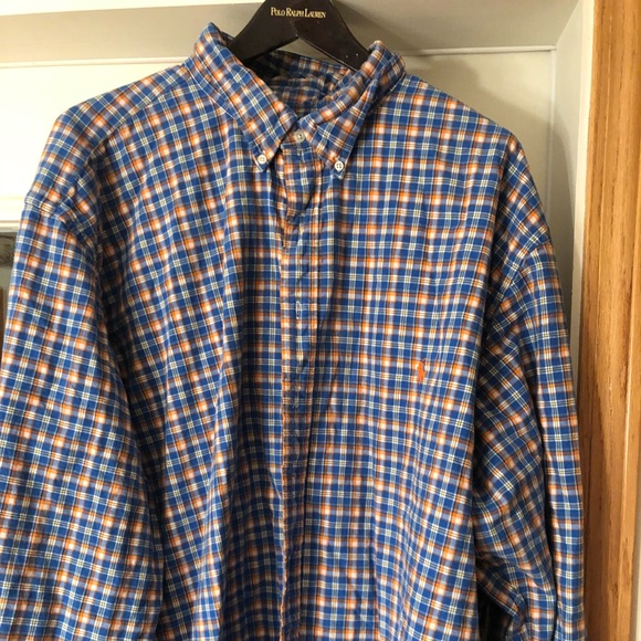 9442b5c44 Polo Ralph Lauren Big   Tall Button-down 4XLT. M 5bd926edf63eea3c127d916d